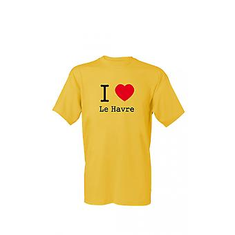 T-Shirt I love Le Havre S-4XL