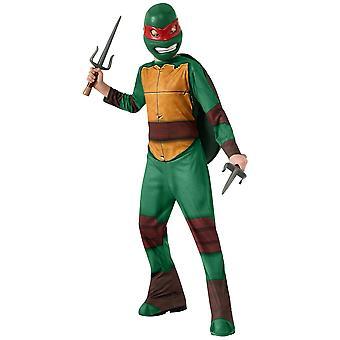 Raphael Raph Teenage Mutant Ninja Turtles tegneserier TMNT superhelte drenge kostume