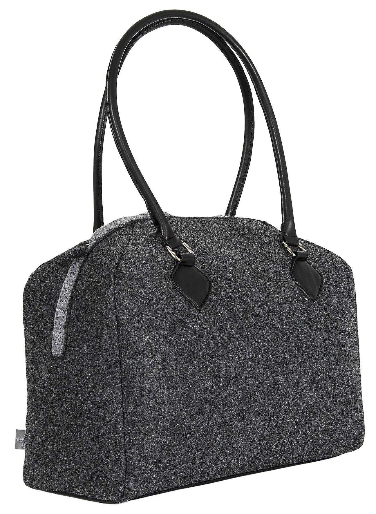 Burgmeister ladies/gents shoulder bag felt, TBM3027-161