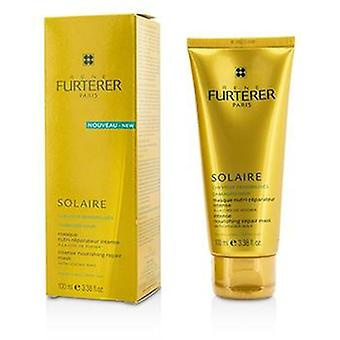 Rene Furterer Solaire Intense Nourishing Repair Mask with Jojoba Wax (For Damaged Hair) - 100ml/3.38oz