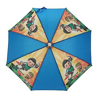 Kids Umbrella | TREE FU TOM | Childrens Brolly | Officially Licensed