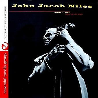 John Niles Jacob - I Wonder as I Wander [CD] USA import