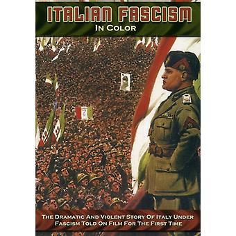 Italienska fascismen i färg [DVD] USA import