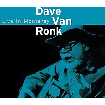 Dave Van Ronk - Dave Van Ronk: Live in Monterey 1998 [CD] USA import