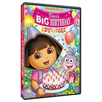 Dora the Explorer - Dora's Big Birthday Adventure [DVD] USA import