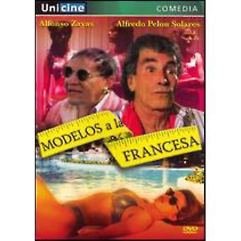 Modeller en La Francesa [DVD] USA importerer
