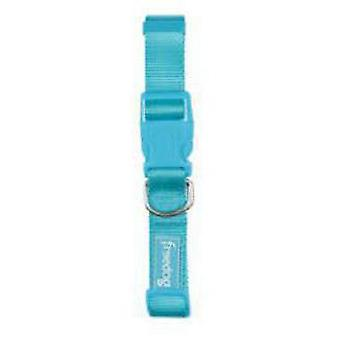 Freedog Turquoise ketting 10mm nylon basic