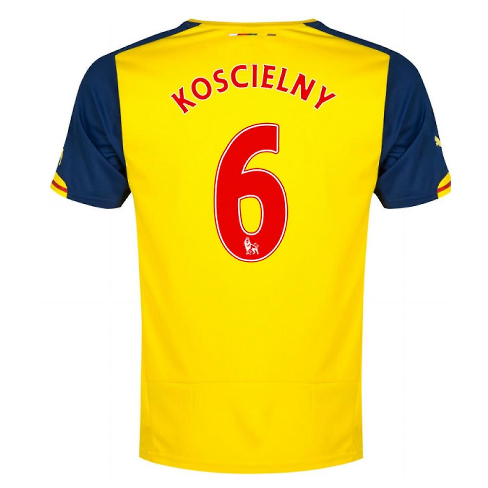 2014-15 Arsenal Away Shirt (Koscielny 6)