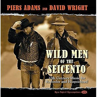 Biber / tyren / Castello / Adams / Wright - vilde mænd Seicento [CD] USA import