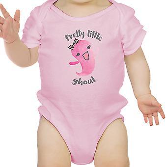 Hübsche kleine Ghul niedlichen rosa Babybody für Baby Mädchen Halloween