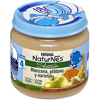 Nestlé Naturnes Selection Apple, Plantain And Orange 190 gr 340 gr