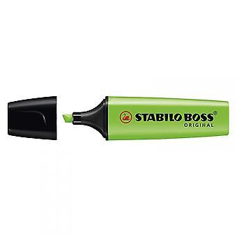 Stabilo Boss oprindelige overstregningstuscher kasse med 10 - farver vises