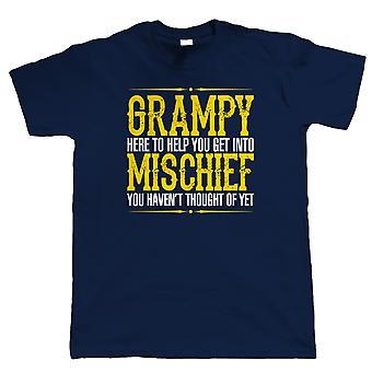 Méfait Grampy, Mens Funny T-Shirt