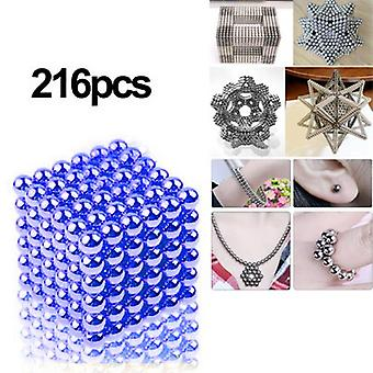 Neodymium magnets blue 216 piece super strong neodymium magnet super magnets