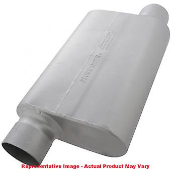 Flowmaster Performance Muffler - 30 Series Delta Force 54030-12 4.00in Center I