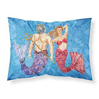 Mermaid and Merman Moisture wicking Fabric standard pillowcase