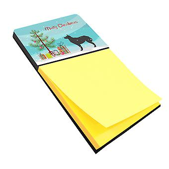 Croatian Sheepdog Merry Christmas Tree Sticky Note Holder