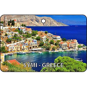 Symi - Grèce Car Air Freshener