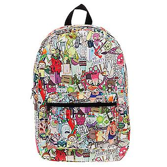 Rick and Morty All Over Print Backpack
