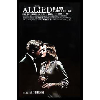 Allied - Signed Movie Poster