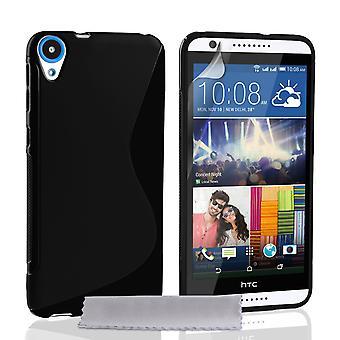 HTC Desire 820 custodia rigida - cristallino