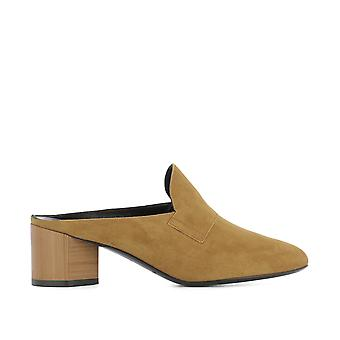 Pierre Hardy women's NC05SUEDECAMEL brown leather heel shoes