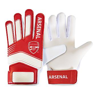 Arsenal FC Childrens/Kids Goalkeeper Gloves