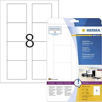 Herma 4355 Labels (A4) 70 x 67.7 mm Paper White