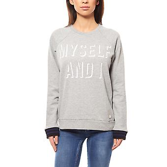 Lee SWS ladies Sweatshirt grey statement print