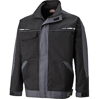 Dickies Mens GDT Cotton Reflective Zip Premium Workwear Jacket
