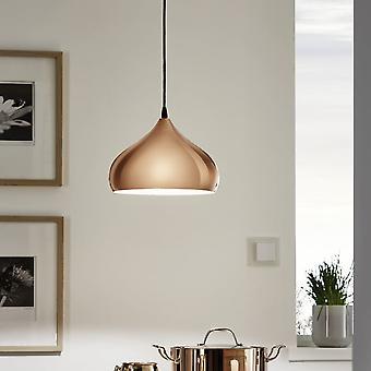 Eglo Hapton poliert Kupfer Anhänger Licht