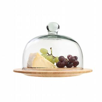 A Cheese Board with glass dome 10061