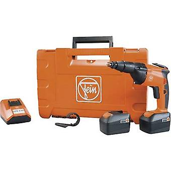 Fein ASCT 14 Cordless dry wall screwdriver 14.4 V 4 Ah Li-ion incl. spare battery, incl. case