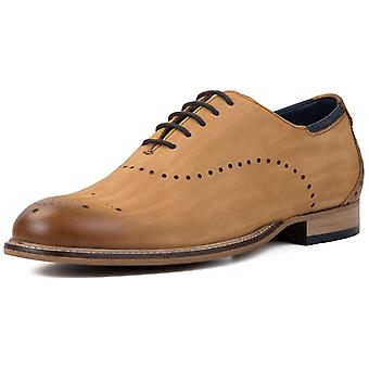 Goodwin Smith Hudson Mens Nubuck Oxford Shoes  AND COLOURS