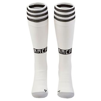 2018-2019 Real Madrid Adidas Home Socks (White)
