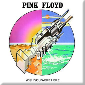 Pink Floyd Fridge Magnet Wish you were here Graphic new Official 76mm x 76mm