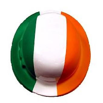 Irish Tri-Colour Plastic Bowler Hat