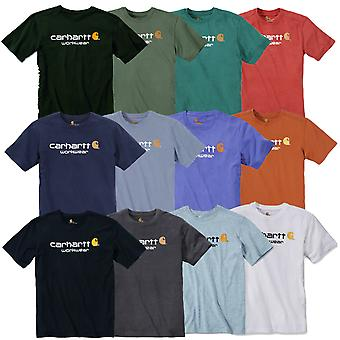 Carhartt T-Shirt core logo 101214