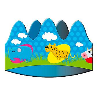 Krone tiara krone dyr dyr fest fødselsdag 8 stykker