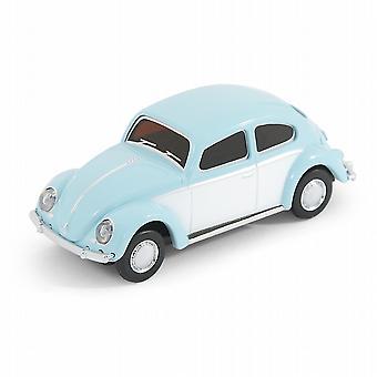 Classic VW Beetle Type 1 Car USB Memory Stick 8Gb - Sky Blue