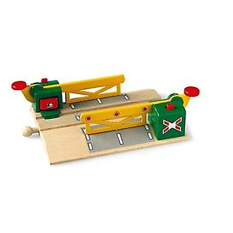 BRIO Magnetic Action Crossing 33750 Wooden Railway Accessory