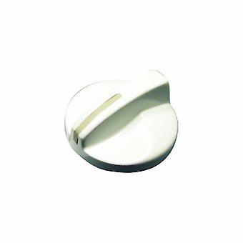 Brännare/kokplatta knopp vit Giugiaro