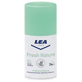 Lea Fresh Nature Deodorant Alum Unisex Roll On