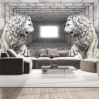 Wallpaper - Stone Lions