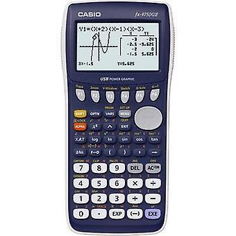 Graphing calculator Casio fx-9750GII Dark blue Display (digits):