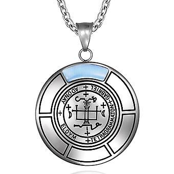 Siegel des Erzengel Gabriel Magic Medaillon Engel Amulett Anhänger Halskette