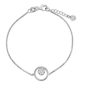 Orphelia srebro 925 bransoletka z cyrkonu 17 + 1,5 cm pl-7382