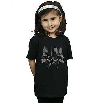 Star Wars Girls Darth Vader Helmet T-Shirt