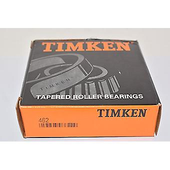 Timken 462 Tapered Roller Bearing, Single Cone, Standard Tolerance, Straight Bore, Steel, Inch, 2.2500