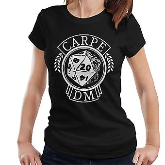 Dungeons And Dragons Carpe DM Women's T-Shirt